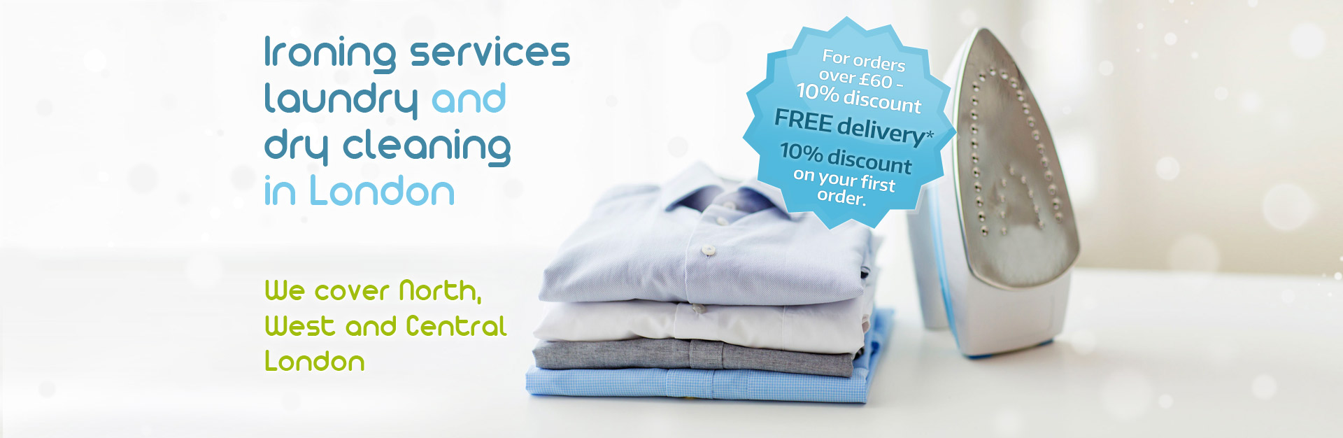 Goironing | 07703 844 462 | Local Ironing Service in North, West and Central London